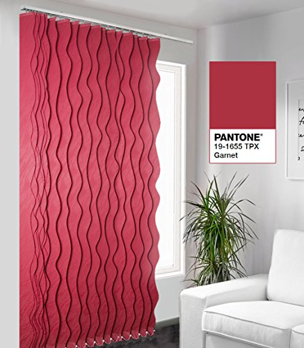 SUNSAILS Natural Vertical Blinds, Custom Made, Window Covering Fabric Blinds, from 60'' to 72