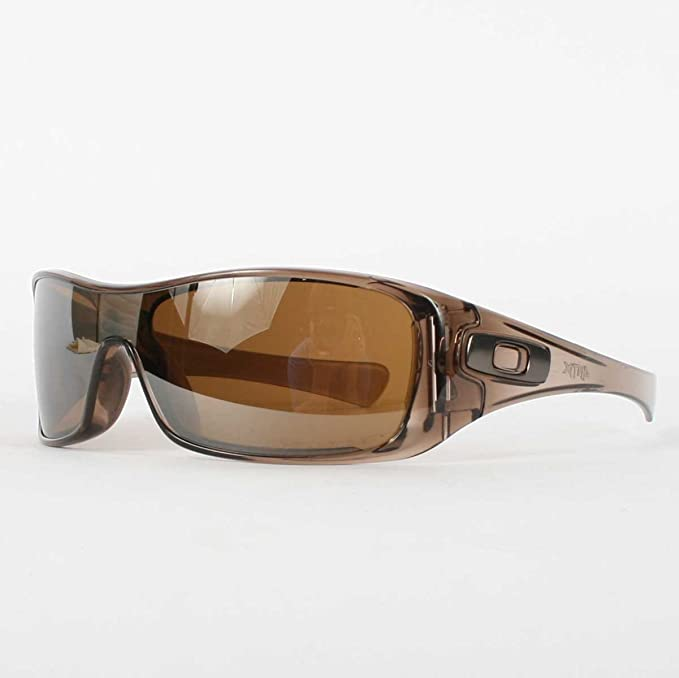 0e3be1b2cc Oakley ANTIX in Brown Smoke   Tungsten Polarized Sunglasses (12-960)   Amazon.ca  Clothing   Accessories