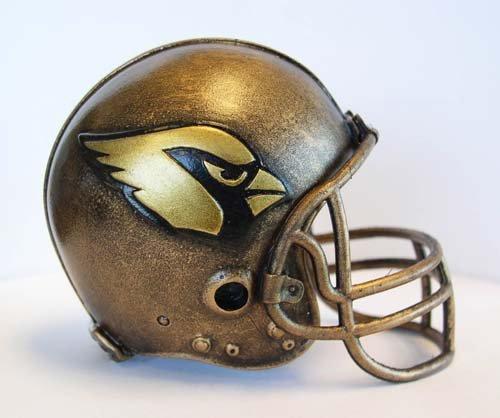 Arizona Cardinals Replica Helmet (NFL Arizona Cardinals Desktop Helmet Statue)
