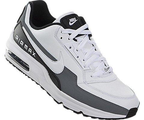 Nike-Mens-Air-Max-LTD-3-WhiteWhiteBlackCool-Grey-Running-Shoe-11-Men-US