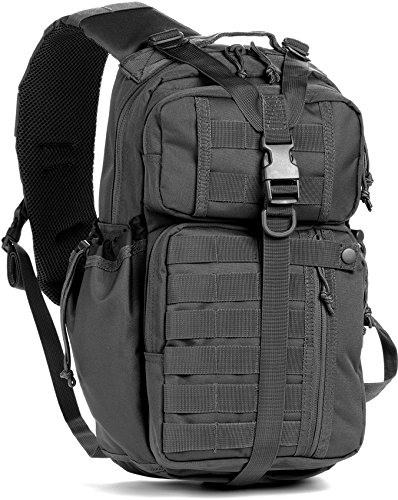Red Rock Outdoor Gear Rambler Sling Pack, Black (Rock Performance Pack)