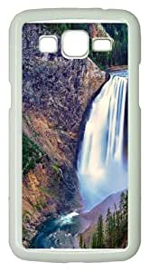 Lower Falls Yellowstone National Park PC Case Cover for Samsung Grand 2 and Samsung Grand 7106 White