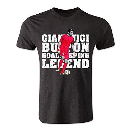 受け入れ設置ピカリングGianluigi Buffon Goalkeeping Legend T-Shirt (Black)