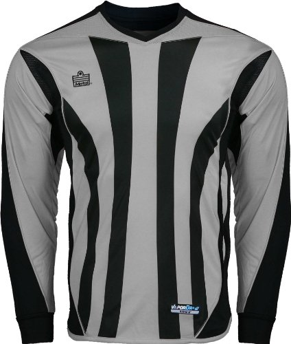 Admiral Bayern Goalkeeper Jersey, Silver/Black, Adult Large