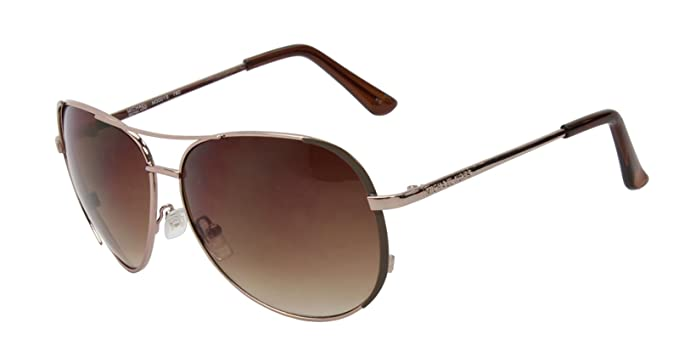 c8b665a97e145 Image Unavailable. Image not available for. Colour  Michael Kors M3001S 780  Rose Gold Aviator Sunglasses Limited Edition