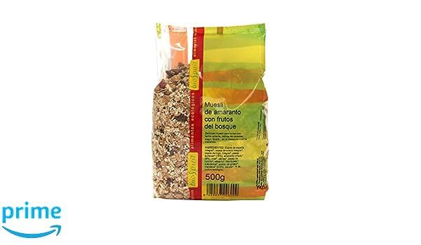 Biospirit Muesli de Amaranto con Frutos del Bosque de Cultivo Ecológico - 500 gr: Amazon.es: Alimentación y bebidas