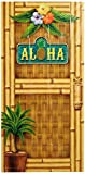Beistle 57314 Aloha Door Cover, 30'' x 5'