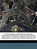 Vollständiges Wörterbuch Über Die Gedichte des Homeros und der Homeriden, Ernst Eduard Seiler and Carl Capelle, 1172763240