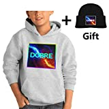 Lucas Dobre,Marcus Dobre Youth Hoodies, Fashion Winter Boy Sweater Coat L