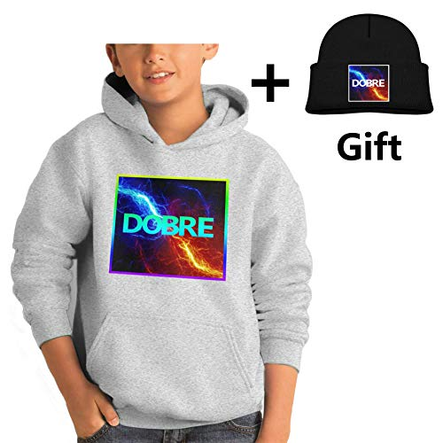 Lucas Dobre,Marcus Dobre Youth Hoodies, Fashion Winter Boy Sweater Coat L by Ming Group (Image #3)