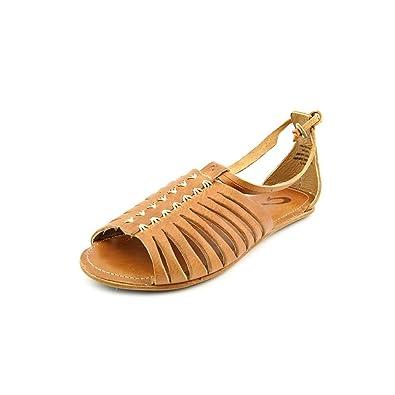 e69b2ee18 OluKai Hikina Womens Sandal Ginger/Ginger - 7