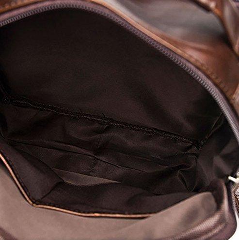Vendimia La Los La Del Hombro marrón Calidad Inclinada Hombres Multicolor Para Casual Business Taleguilla De De Bolso U5qwXxR