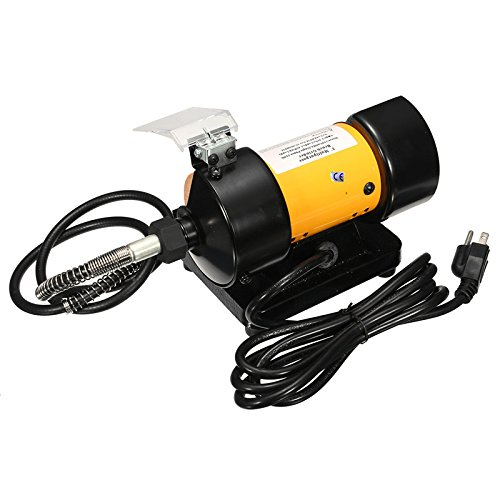 110V AC 3 Inch Mini Bench Grinder Manageable Shaft Rotary Grinder Polisher Tool