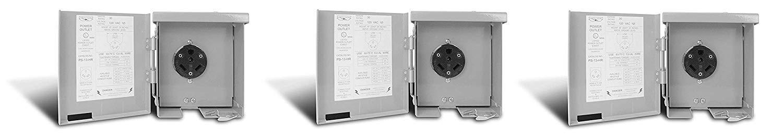 Connecticut Electric CESMPS13HR 30-Amps/120-Volt RV Power Outlet (Pack of 3) by Connecticut Electric
