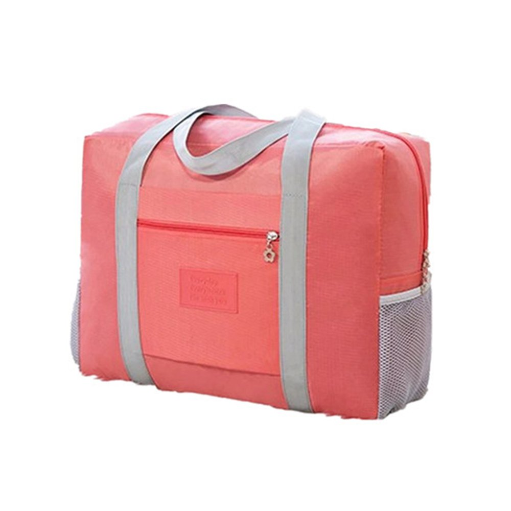 Travel Foldable Duffel Bag, Vinmax Large Capacity Waterproof Lightweight travel Luggage bag for Sports, Gym, Vacation (Pink)