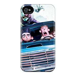 Iphone 4/4s Cases Bumper Tpu Skin Covers For Paranorman 2012 American 3d Stop Motion Animated Comedy Horror Film Accessories