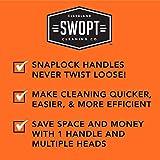 "SWOPT 18"" Microfiber Dust Mop Head with"