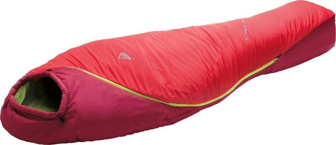 Mu de saco de dormir X-Treme Light 1200 III - Rojo/D rot/lime, multicolor: Amazon.es: Deportes y aire libre
