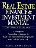 img - for Real Estate Finance and Investment Manual: A Guide to Money-Making Strategies by Cummings (1997-02-10) book / textbook / text book