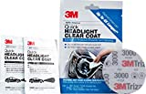 3M Quick Headlight Clear Coat, Cleans and Prevents