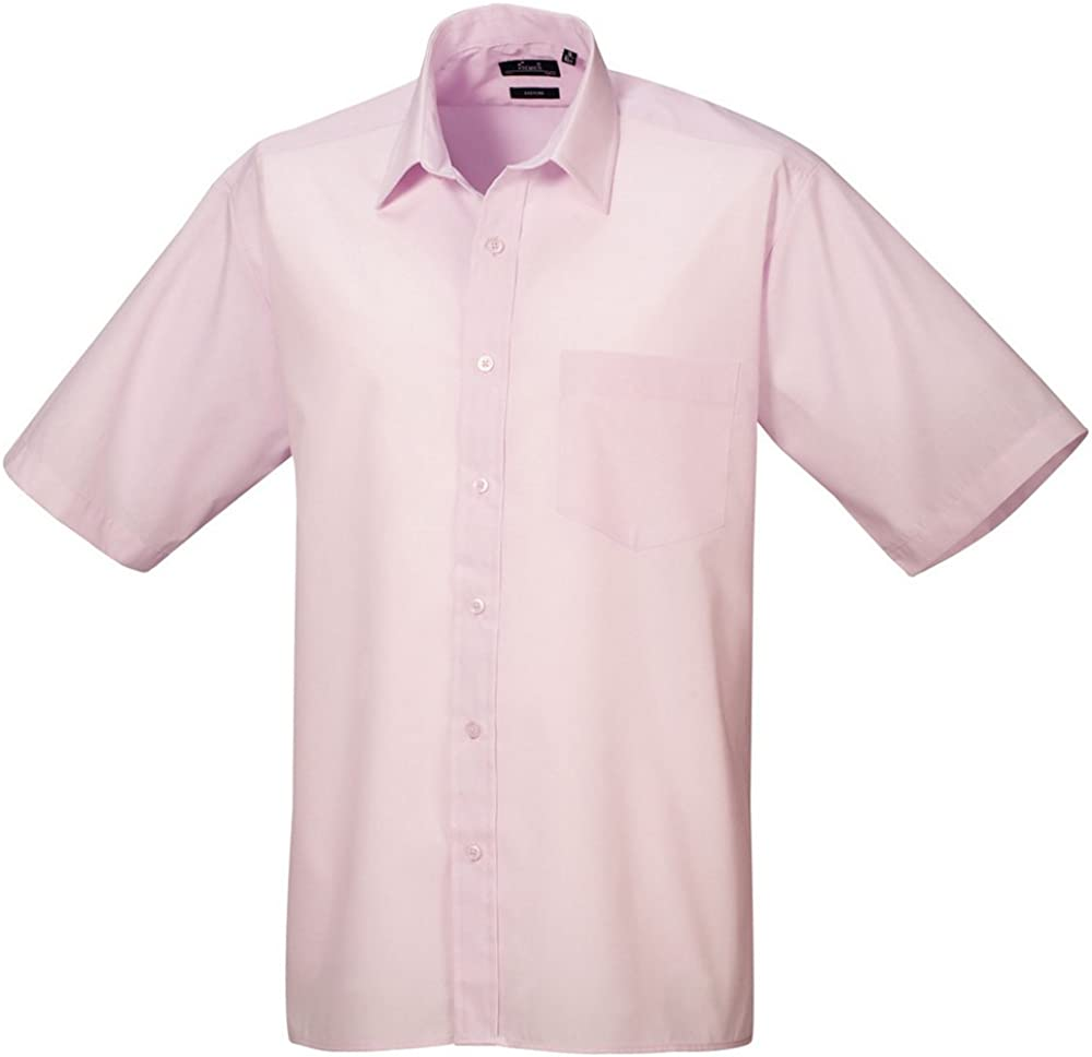 Premier Workwear Poplin Short Sleeve Shirt Camicia Uomo