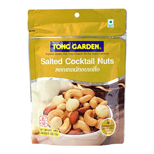 Tong Garden, Salted Cocktail Nuts, 160 g (Pack of 1 unit) / Beststore by (Cocktail Unit)