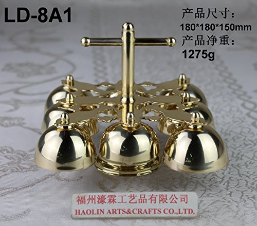 Church Altar Bell with Handle LD-8A1 by HaoLin