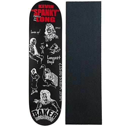 Baker Skateboard Deck Good Days Spanky 8.25″ With Pro Grip