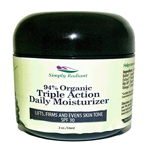 All Natural Face Moisturizer With Spf 30 - 6