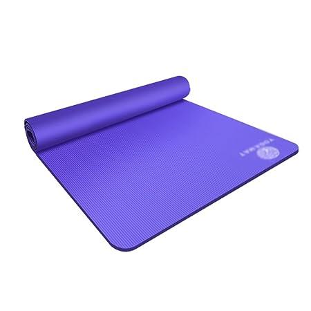 Yoga Colchonetas Fitness y Ejercicio Alfombra de Yoga Doble ...