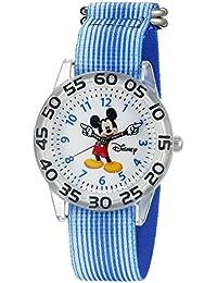 Mickey Mouse Kids' W002507 Mickey Mouse Analog Display Analog Quartz Blue Watch