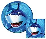 Best Creative Converting Friends Plates - Shark Splash Lunch Napkins & Dinner Plates Party Review