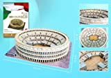 Daron Roman Colosseum 3D Puzzle with Book, 131-Piece