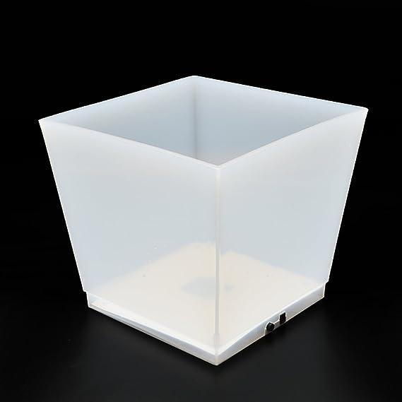 LED Eiswürfelbehälter Flaschenkühler Eiskübel mit USB-Kabel