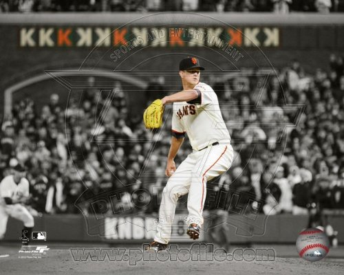 Matt Cain San Francisco Giants 2012 Perfect Game Spotlight Photo 8x10