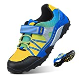UOVO Boys Shoes Boys Running Hiking Sneakers Kids Athletic Outdoor Shoes Slip Resistant Blue, 12.5 Little Kid