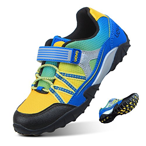 UOVO Boys Shoes SlipResistance Running Hiking Outdoor Athletic Fashion Sneakers for Kids (Little Kid/Big Kid)