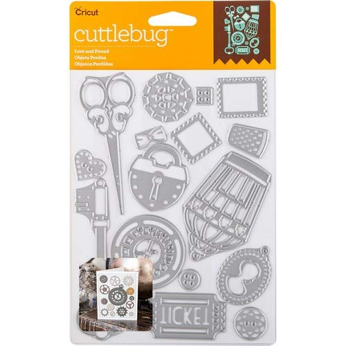 Cuttlebug Cut & Emboss Die-Lost And Found, 16/Pkg ()