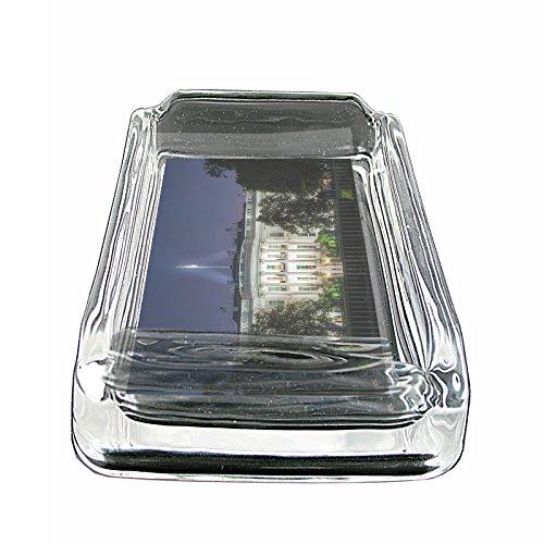 Washington DC USA S9 Glass Square Ashtray 4