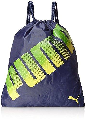 PUMA Men's Stamped Carrysack Bag, Navy, One Size