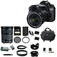 Canon EOS 6D 20.2MP Full Frame DSLR with EF 24-105mm IS STM Lens + 128GB Deluxe Accessory Kit Basic Intro Review Image