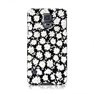 Floral Chamomile Pattern Indie Girls Flowers Nature Vintage Spring Summer Plastic Snap-On Case For Samsung Galaxy S5 by mcsharks