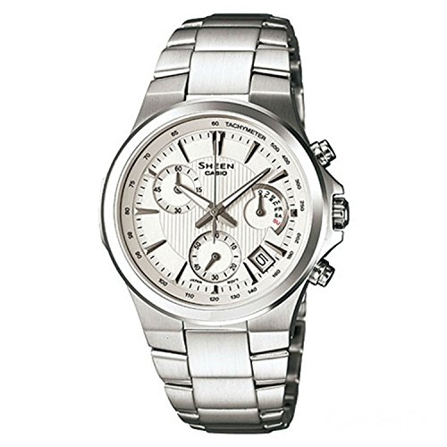 Casio SHE-5019D-7ADR Ladies SHEEN Chronograph Watch by Casio