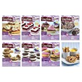 Easy Bake Oven Refills Set of 8 Kits - Truffles, Cakes, Pies, Pretzels, Cookies, Pizza