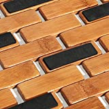 Luxury Multipurpose Bamboo Bath Mat For Shower Spa