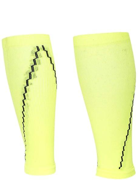 b8f233f211f6 Amazon.com  Red Lion Neon Solid Compression Leg Sleeve (Neon Yellow ...