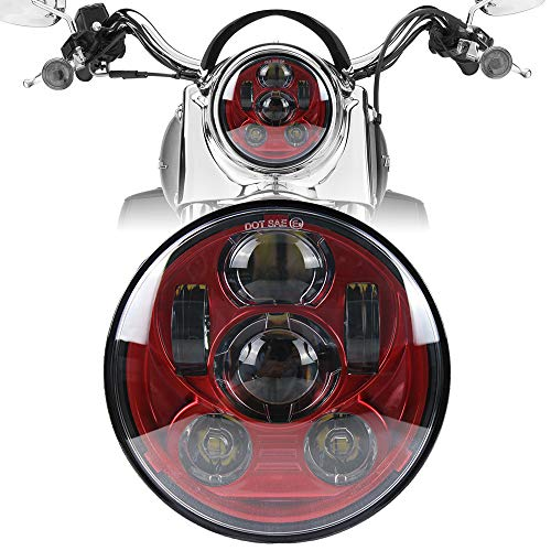 (Motorcycle Headlight 5.75 Inch 5 3/4