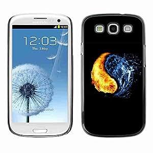 Planetar? ( Yin Yang Elements ) Samsung Galaxy S3 III / i9300 i717hard printing protective cover protector sleeve case
