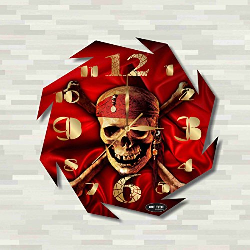 Cogsworth Costume Kids (Pirates of the Caribbean 11.8'' Handmade unique Wall Clock - Get unique décor for home or office – Best gift ideas for kids, friends, parents)