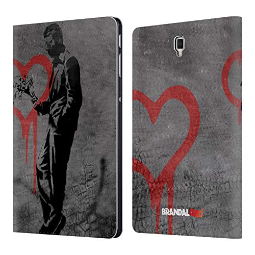 Official Brandalised The Hustler Banksy Art Street Vandals Leather Book Wallet Case Cover for Samsung Galaxy Tab S4 10.5 (2018)